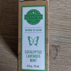 Scentsy Eucalyptus Lavender Mint oil blend